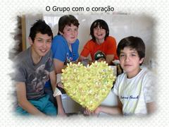 O grupo com o coração