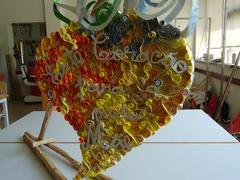 """1 - """"O coração da minha mãe tem arte""""."""