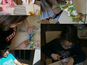 Trabalho realizado pelos alunos no desafio anterior (material reutilizado).