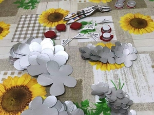 Flores recortadas