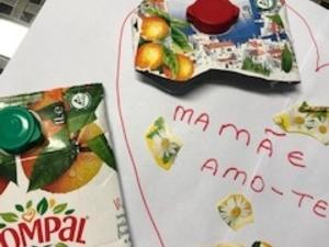 No dia da mãe o coração é amarelo
