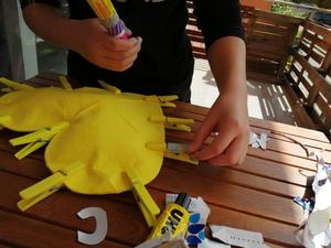 Execução- colocação das molas;