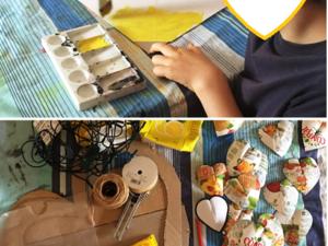 Materiais e técnicas utilizadas.
