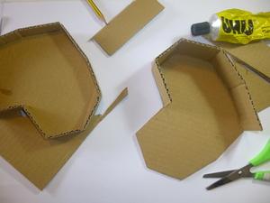 Construção da caixa-coração