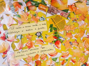 Coração Amarelo - 4.pormenor mensagens