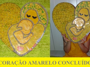 Coração Amarelo concluído